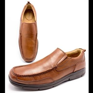 Florsheim Comfortech 10D Brown Dress Loafers Shoes